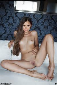 Nina Dobrev celebrity nude / Naked Celebrities / LustPin.com