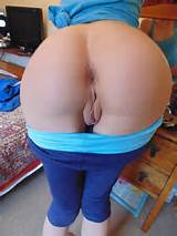... dark_anal_cleft huge_ass pants_down photo pussy wide_hips yoga_pants